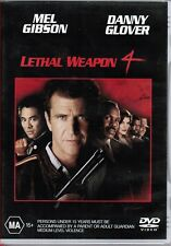 VERY GOOD DVD LETHAL WEAPON 4 GIBSON GLOVER  PESCI  RUSSO JET LI ACTION FILM*