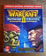 WarCraft II, Battle.net edition, (1999), 1st printing, Prima Games