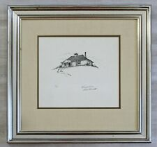 20th Century Framed Modern Illustration A.P. Litho Signed Norman Rockwell 1947