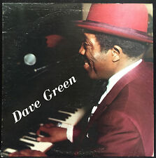 Dave Green At The Piano Bar LP Mint- Private Jazz Johnny Frigo Chicago Record