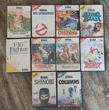 Sega Master System 2 Spielehüllen -selten-