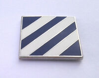 *** 3rd INFANTRY DIVISION ***  Military Veteran US ARMY Hat Pin P14858 EE