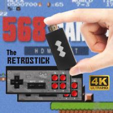Mini Hdmi 4K Retro Tv Game Stick Console 568 Built-in Games 2×Wireless Gamepad