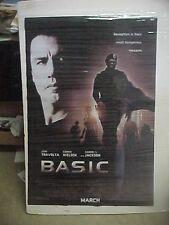 BASIC, orig rolled D/S 1-Sht / movie poster [John Travolta, Samuel L Jackson]