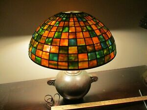 """Handel Lamp Base with 16"""" Excellent Quality Shade"""