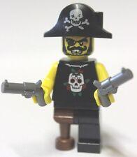 Lego® Figur Pirat mit Waffen nahezu unbespielt Minifig