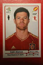 Panini EURO 2012 N. 297 ESPANA ALONSO NEW With BLACK BACK TOPMINT!!