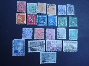 Finland Stamps - Mixed Lot