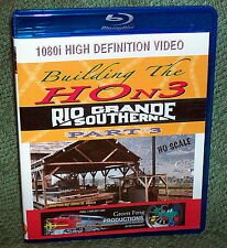 "20153 BLU-RAY HD VIDEO ""BUILDING THE HOn3 RIO GRANDE SOUTHERN"" VOL. 3"