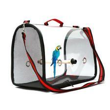 Bird Carrier Bag Cage Nest Pet Parrot Breathable Transparent Handbag Backpack