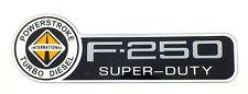 INTERNATIONAL F-250 POWERSTROKE  FORD TRUCK FENDER EMBLEM