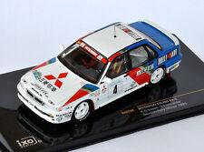 IXO Mitsubishi Galant VR-4 #4 Eriksson - Parmander Rally Sweden 1991 RAC220 1/43