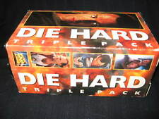 Die Hard Triple Pack Vhs Bruce Willis With Making Of Die Hard With Vengeance
