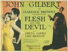 FLESH AND DEVIL 1926 DVD RARE SILENT FILM JOHN GILBERT GRETA GARBO
