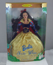 Barbie Doll Snow White Collector Edition Doll with Stand NRFB