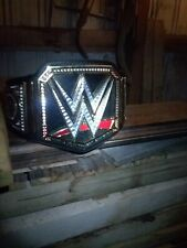 WWE World Heavyweight Championship Collectible Title Belt replica