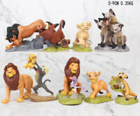 2019 Lion King 9 Pieces Figures Figurines Collection Gift Simba Uncle Scar Nala