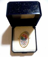 2020 Olympic Games Tokyo Original Collectible CANDIDATE CITY PIN BADGE BUTTON 1