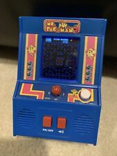 New ListingMs. Pacman Vintage Electronic Handheld Arcade Video Game Bandai Namco Works 2018