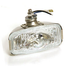 CLASSIC CAR RETRO REAR STAINLESS REVERSE LAMP CLEAR 12v FORD MINI VINTAGE Y3277