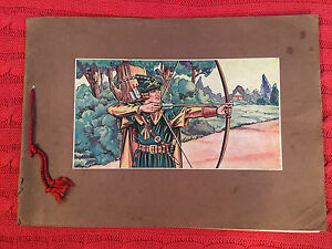 The Adventures Of Robin Hood 1939 French 30 page booklet
