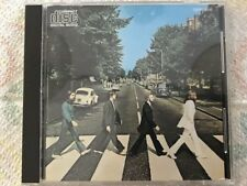 BEATLES Abbey Road CD Japan CP35-3016 1st press MFD by CBS SONY