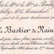Auguste Le Bastier De Rainvilliers Beauvais Oise 1886