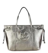 Shopping Bag Blu Byblos - Round-saf 675p62 amarillo