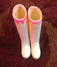 Vintage Francie #1269 LEATHER LIMELIGHT White & Pink Boots Barbie Pal Mod Era