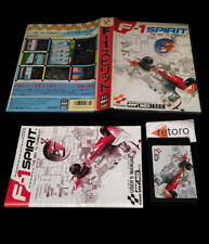 F-1 SPIRITS F1 MSX MSX2 MegaRom RC-752 Japanese Complete Konami