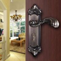 New Popular Continental Antique Mechanical Locks Set Interior Door Handle Locks