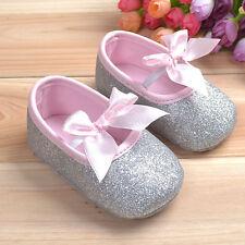US Soft Sole Baby Girl Shoes Anti-slip Cotton Toddler Infant Newborn Prewalker C