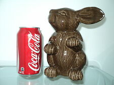 BUNNY RABBIT BROWN CHOCOLATE COLOR FIGURINE EASTER HOLIDAY HOME DECOR COLLECTION