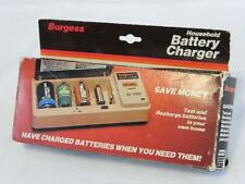Vintage Burgess Household Battery Charger New-In-Box