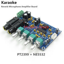 PT2399 Karaoke Microphone Reverberation Audio Pre Amp Amplifier Reverb Board