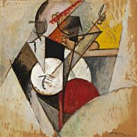 Composition for Jazz Painting by Albert Gleizes Art Reproduction