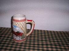 New listing Ceramarte Budweiser A Series 1985 Limited Ed Clydesdale Beer Stein Hand Craft