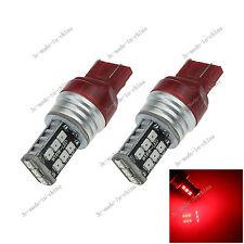 2X Red 7443 7440 15 SMD 2835 LED car Light Brake Reverse Bulb AC/DC 12-24V G027