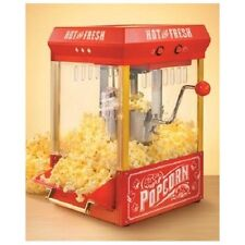 RETRO POPCORN POPPER Hot Oil Old Fashioned Vintage Machine Theater Kettle Maker