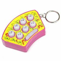Whack Hamster Fight Affordable Keychian Finger Game Keyrings Gift Whac-A-Mole