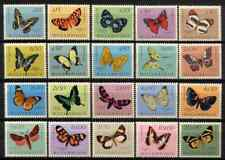 MOZAMBIQUE 1953 - SET BUTTERFLIES / INSECTS MNH