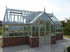 Englisches Gartenhaus, Wintergarten, Gewächshaus, Glashaus, Treibhaus