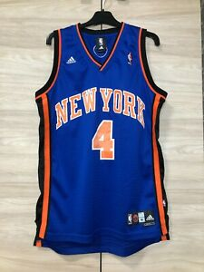 New York Knicks Nate Robinson #4 NBA  Adidas Jersey Shirt size M length +2