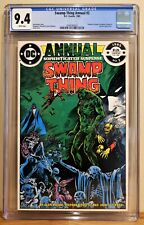 SWAMP THING ANNUAL #2 CGC 9.4 - WHITE *JUSTICE LEAGUE DARK APPEARANCE*