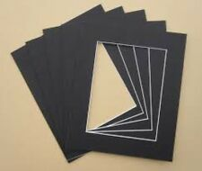 """6 x Professional Picture Framing Mat Boards 16x20"""" with A3 Window"""