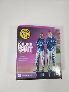 """Golds Gym Sauna Suit (Size Small-Medium for 24""""-32"""" Waists)"""