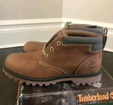 TIMBERLAND ARIDA BROWN LEATHER WORK BOOTS 13 87096