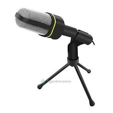3.5mm Laptop PC Computer Podcast Studio MSN Skype Youtube Desktop Microphone Mic
