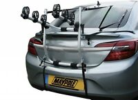 Car Van Estate Aluminium Alloy High Rear Mount 3 Bike Bicycle Cycle Carrier Rack