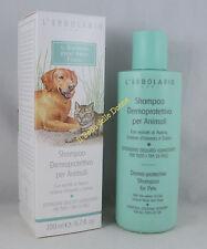 L'ERBOLARIO Shampoo Dermoprotettivo x Animali 200ml tutti tipi pelo cane gatto